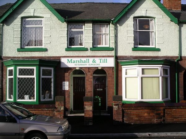 Marshall and Till Veterinary Surgery Campbell Street Belper